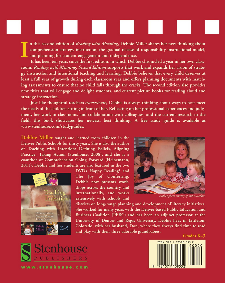 Reading with Meaning, Second Edition | Stenhouse Publishers